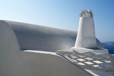 Białe kominy